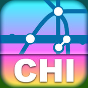 Chicago Transport Map - Rail Map for your phone and tablet