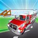 Fix My Truck: Red Fire Engine LITE