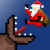 Super Mega Worm Vs Santa