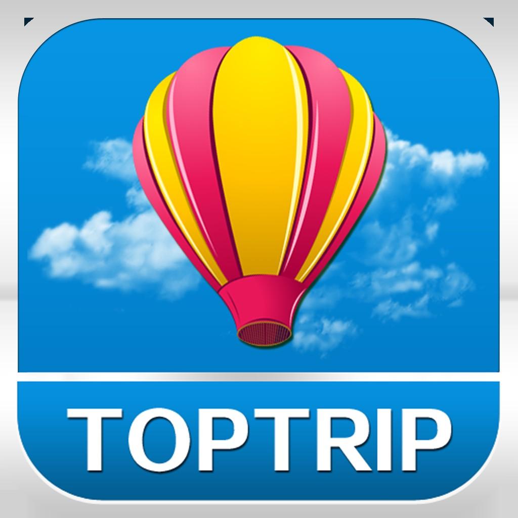 旅游景点logo矢量图