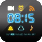 电子闹钟大师 for iOS 8- (挥手感应,自动推送天气预报,日历农历,绚彩主题)