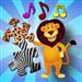 儿童动物拼图-教育年轻孩子们游戏,教的形状和匹配适合幼儿和前学校男孩和女孩 3 +