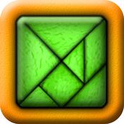 TanZen HD Free - Relaxing tangram puzzles