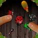 虫蟑螂像蚂蚁粉碎机