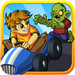 Zombie Go Kart Run Race Simulator Easy Kids Racing